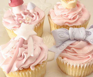 cupcake, food, and fairy image