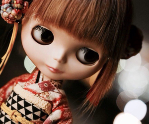 blythe, kawaii, and 着物 image