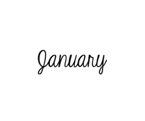 january, beautiful, and black and white image