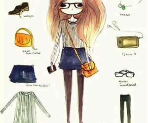 kfashion, cute, and sketches <3 image