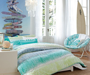 beach, beds, and beach theme rooms image
