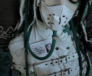 design, cyber goth, and cybergoth image