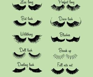 lashes, eyelashes, and makeup image
