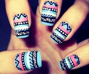 design, nails, and pattern image