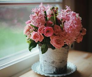 boho, pretty, and flowers image