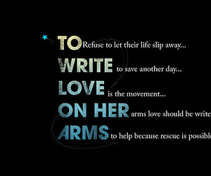 love, arms, and her image