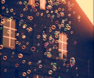 bubbles and house image