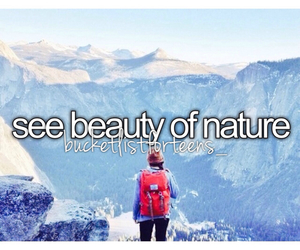 beauty, montain, and nature image