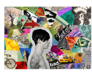 Ash Stymest, Collage, and tattoo image