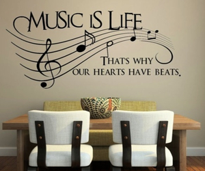 music, life, and hearts image