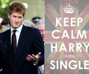 harry, keep calm, and prince harry image