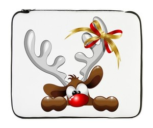cartoon, christmas, and laptop sleeve image