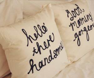 love, pillow, and handsome image