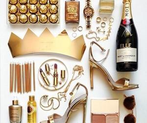 gold, fashion, and luxury image