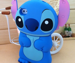 iphone, stitch, and case image