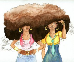 hair and Afro image