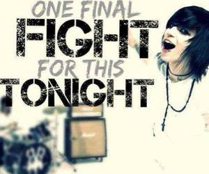 emo, rock, and tonight image