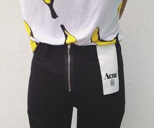 fashion, acne, and banana image