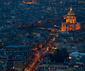 city, lights, and paris image