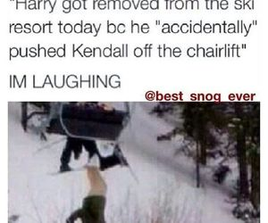 funny, kendall jenner, and hendall image