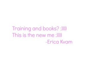 blogger, pink, and training image