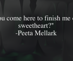 the hunger games and peeta mellark image