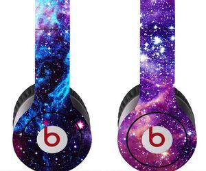 beats, galaxy, and headphones image