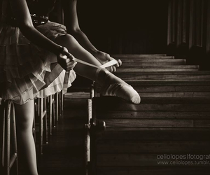 b&w, bale, and ballet image