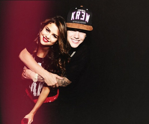 couple, justin bieber, and cute image