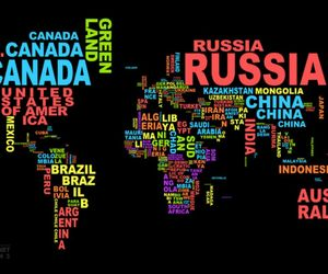 world, map, and country image