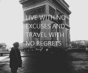 travel, live, and quote image