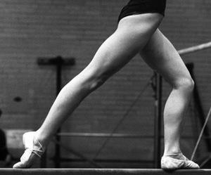 ballet, nadia comaneci, and gymnastics image