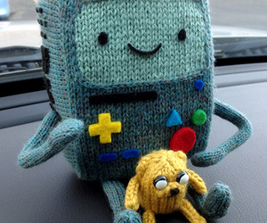 bmo, adventure time, and JAKe image