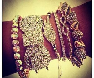 diamonds, girly, and jewelry image