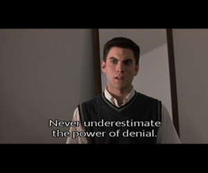 american beauty, denial, and wes bentley image