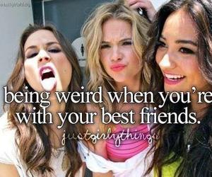 friends, weird, and best friends image