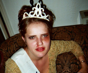 drunk, party, and tiara image