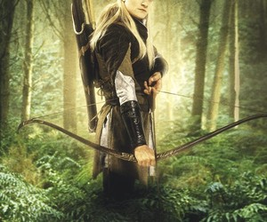 Legolas, elf, and lord of the rings image