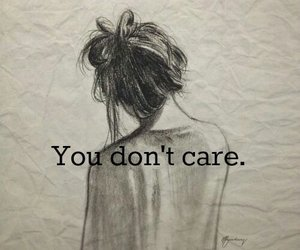 care, sad, and you image