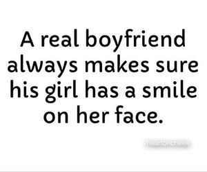 boyfriend, girl, and smile image