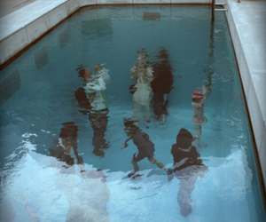 pool, water, and people image