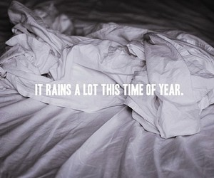 rain, bed, and coconut records image