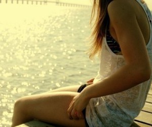 girl, pretty, and summer image
