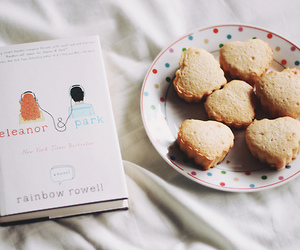 book, Cookies, and food image