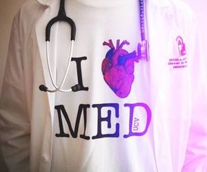doctor, medicine, and heart image