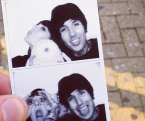 oliver sykes, hannah snowdon, and love image