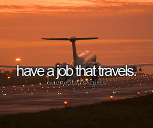 travel, job, and Dream image
