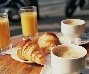 breakfast, croissant, and food image