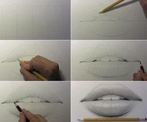 draw, drawing, and tutorial image