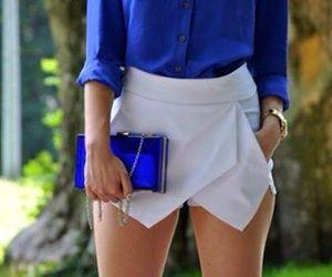 blue, fashion, and moda image
